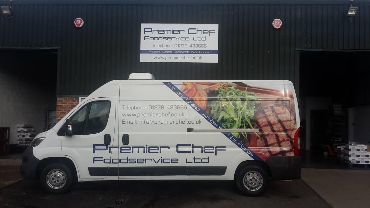 Premier Chef Foodservice Van