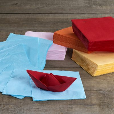 Napkins 3 Ply 40cm Various
