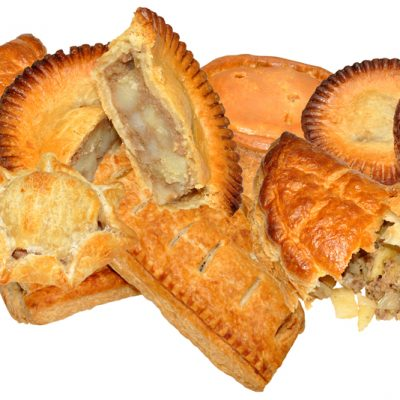 Pies, Pasties & Sausage Rolls - Unwrapped