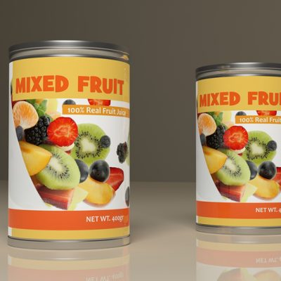 Tins Fruit