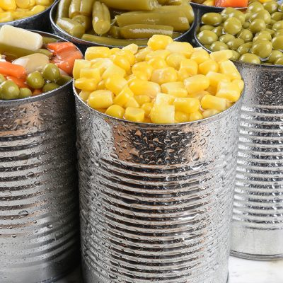 Tins Vegetables